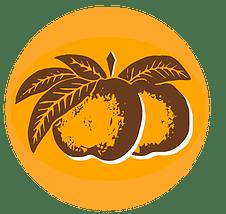 Logo pomme cidrerie kerné